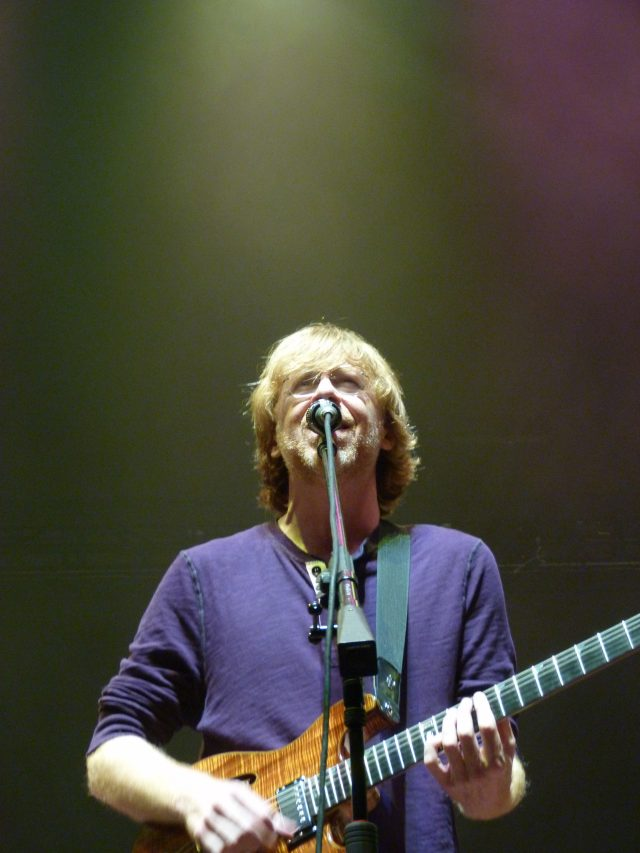 Trey Anastasio performs Oct. 31, 2013 at Boardwalk Hall in Atlantic City, NJ (photo credit: Shaun Smith)