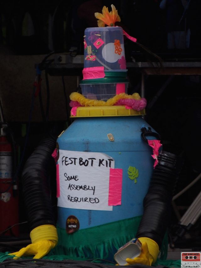 FestBot is prepared to travel to other music festivals after the 54th annual Philadelphia Folk Festival.