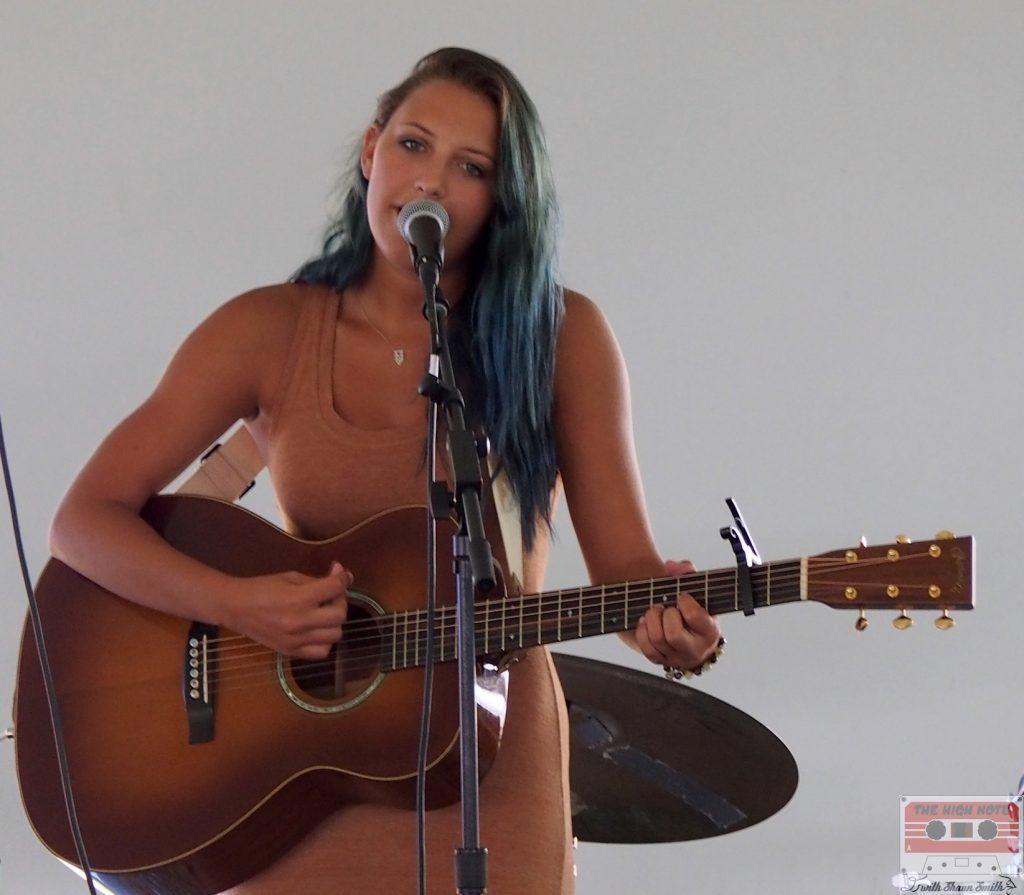 MIa Bergmann performs at the 54th annual Philadelphia Folk Festival.