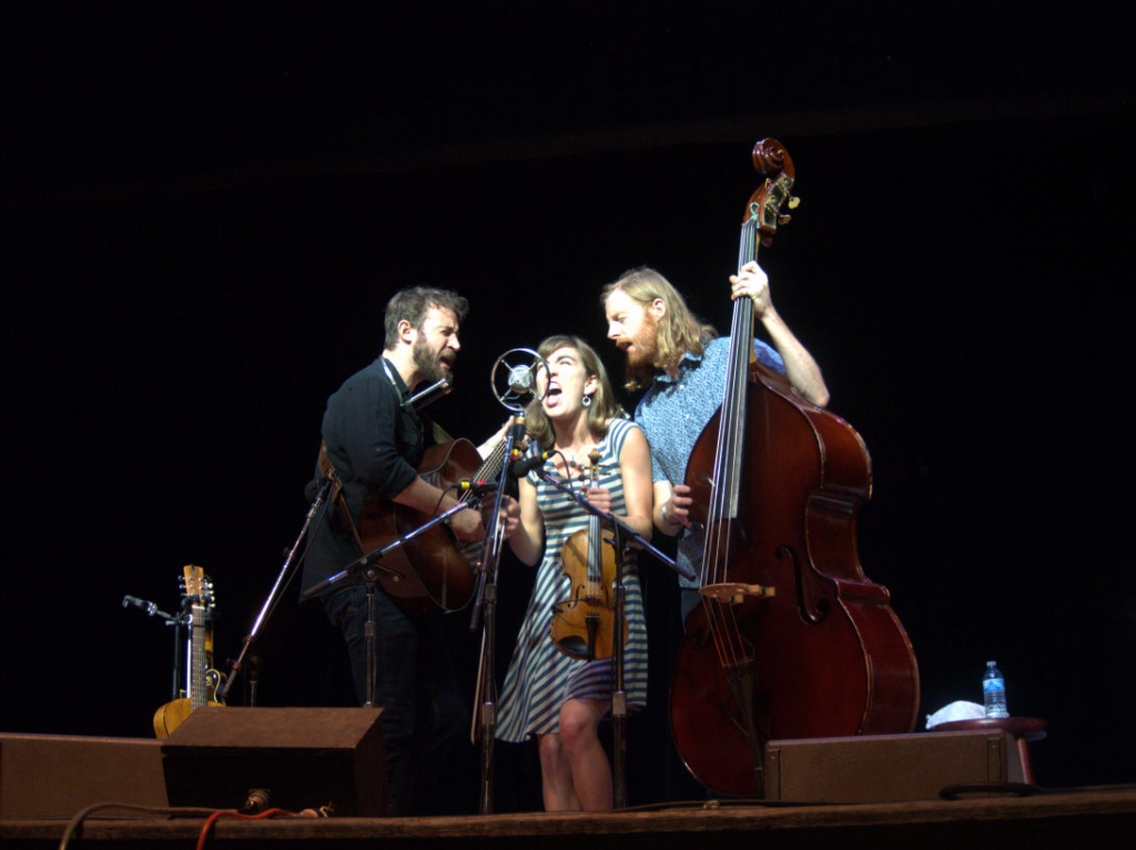 Ladybird performs at the 55th annual Philadelphia Folk Festival (Shaun Smith/The High Note).