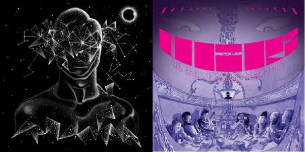 "Shabazz Palaces - ""Quazarz: Born On A Gangster Star""/  ""Quazarz vs. The Jealous Machines"""