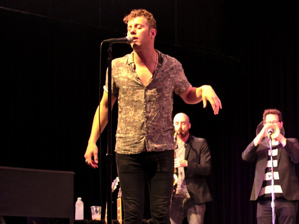 Anderson East performs at the 55th annual Philadelphia Folk Festival (Shaun Smith/The High Note).