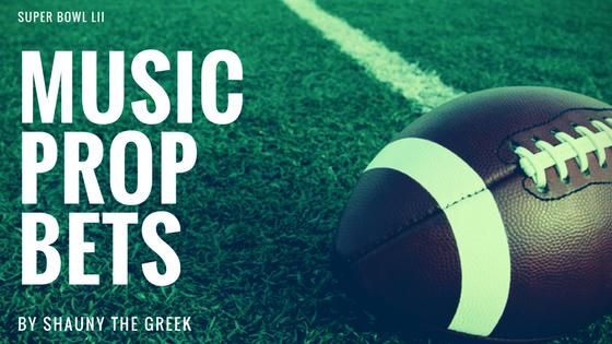 Super Bowl Music Prop Bets