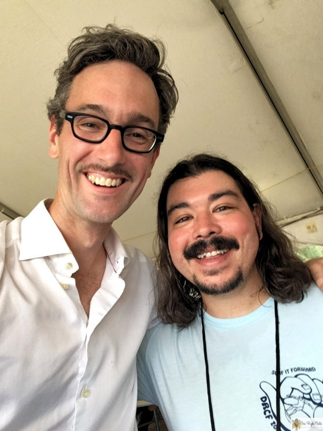 David Myles and Shaun Smith at the 57th annual Philadelphia Folk Festival