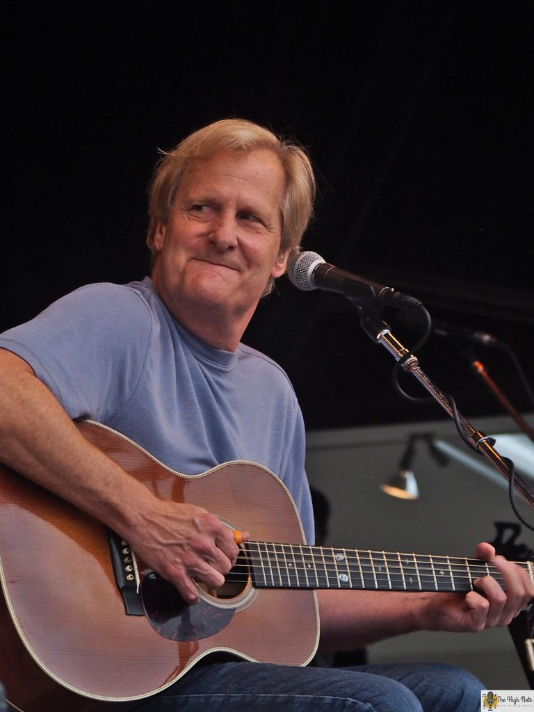 Jeff Daniels performs with the Ben Daniels Band at the 57th annual Philadelphia Folk Festival.