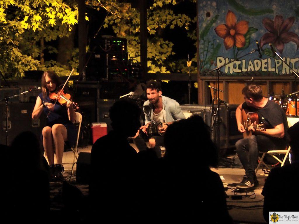 Talisk performs Thursday night at the 57th annual Philadelphia Folk Festival