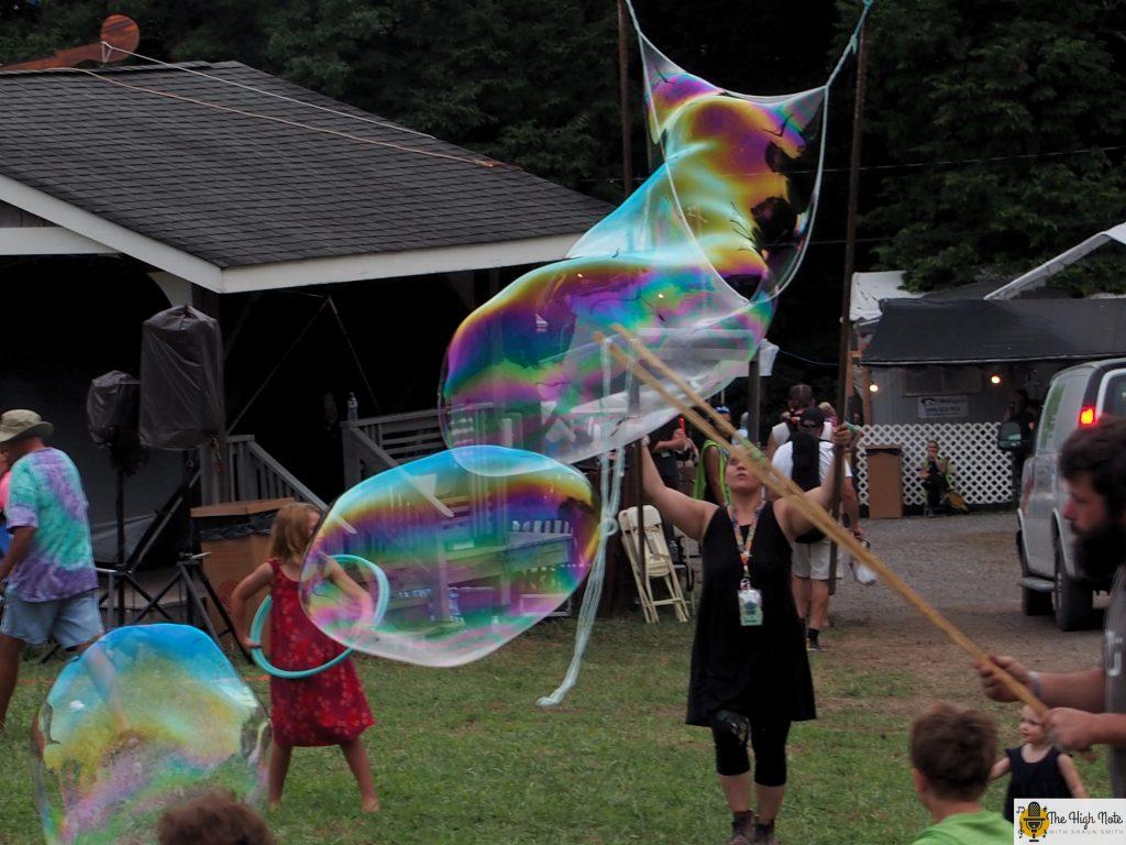 Big float around at the 57th annual Philadelphia Folk Festival.
