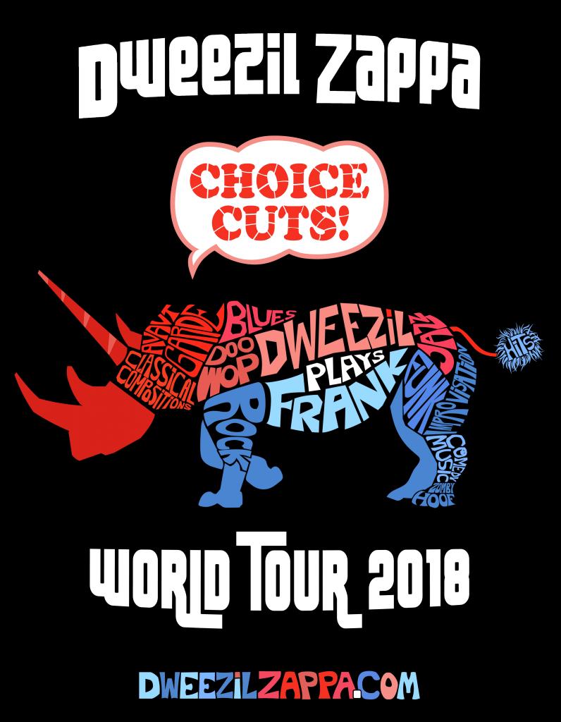Dweezil Zappa Choice Cuts World Tour