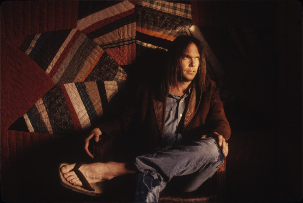 Neil Young - photo credit - Henry Diltz