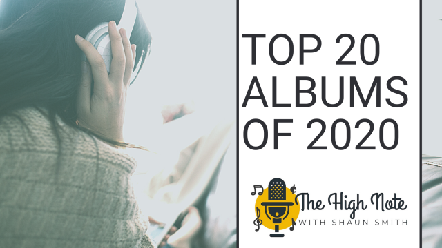 The High Note Top 20 Albums of 2020