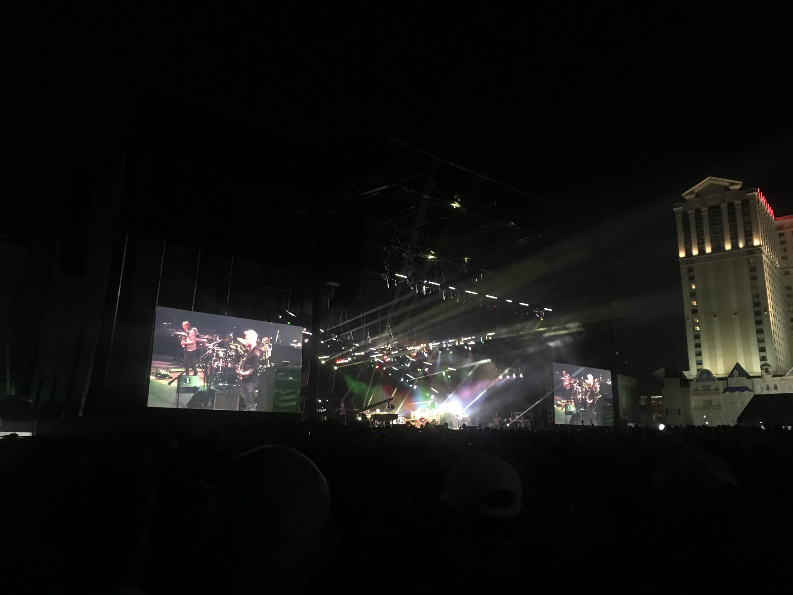 Phish closes out three nights on the beach in Atlantic City Sunday, Aug. 15, 2021 (Shaun R. Smith/The High Note).